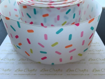 Sprinkles Grosgrain Ribbon