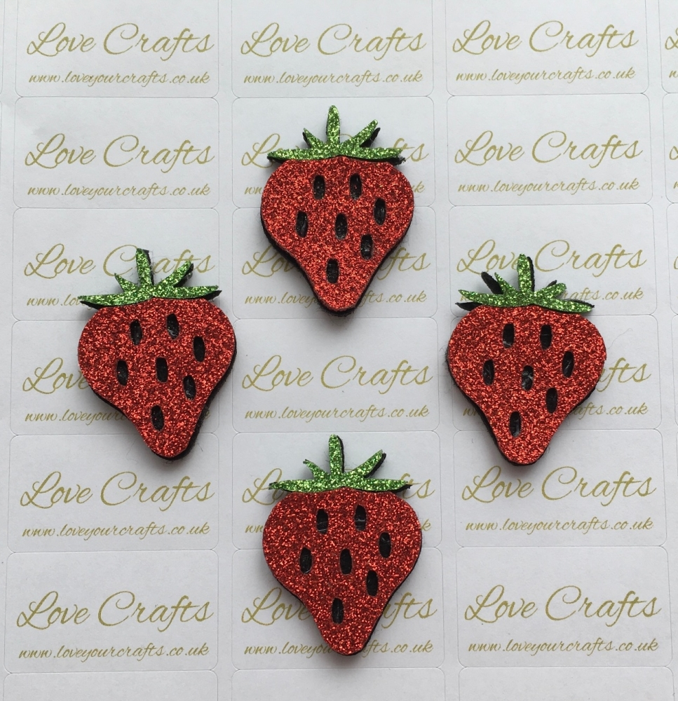 Small Strawberry Feltie