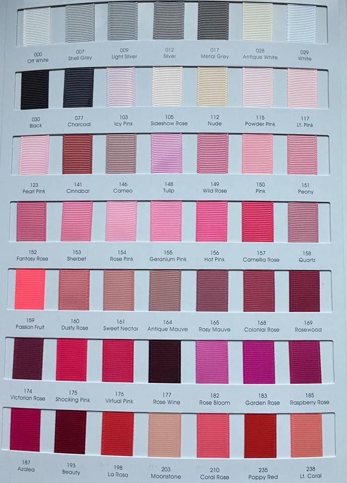 #117 Light Pink Grosgrain Ribbon