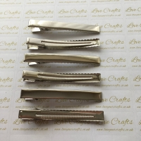 5 - 80mm NEW Alligator Hair Clips