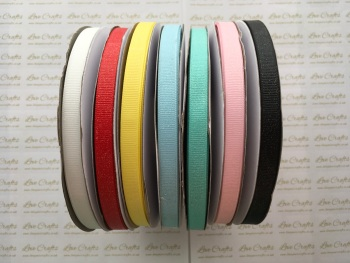 "3/8"" Glitter Grosgrain Ribbon"