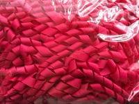 """3/8"""" Shocking Pink Korker Ribbon - 22cm"""