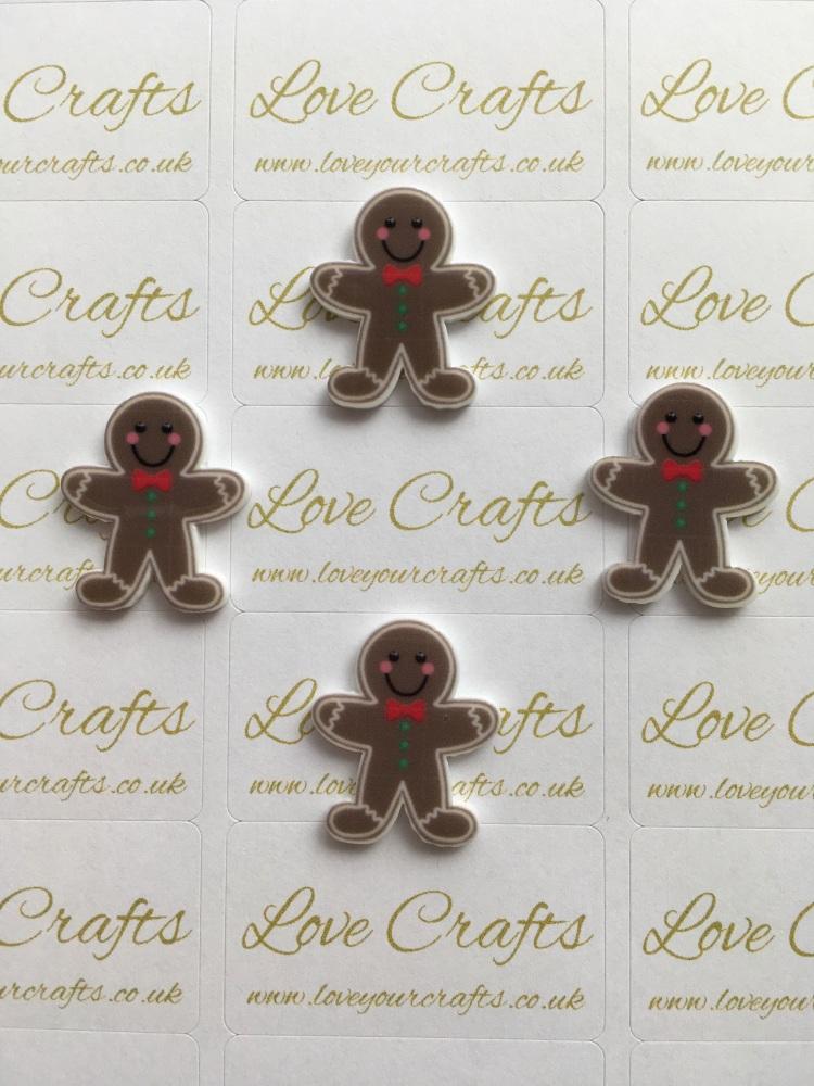 Gingerbread Laser Resin