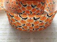 Pumpkins & Bats Grosgrain Ribbon
