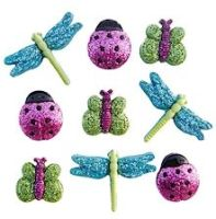 Dress It Up Buttons: A Bugs World