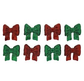 Dress It Up Buttons: Christmas Bows