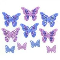 Dress It Up Buttons: Sweet Butterflies