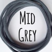 Pack of 5 Dainties - Mid Grey