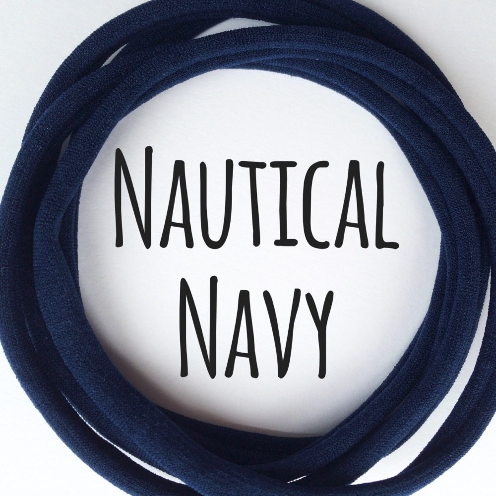 Pack of 5 Dainties - Nautical Navy