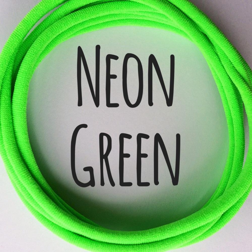 Pack of 5 Dainties - Neon Green