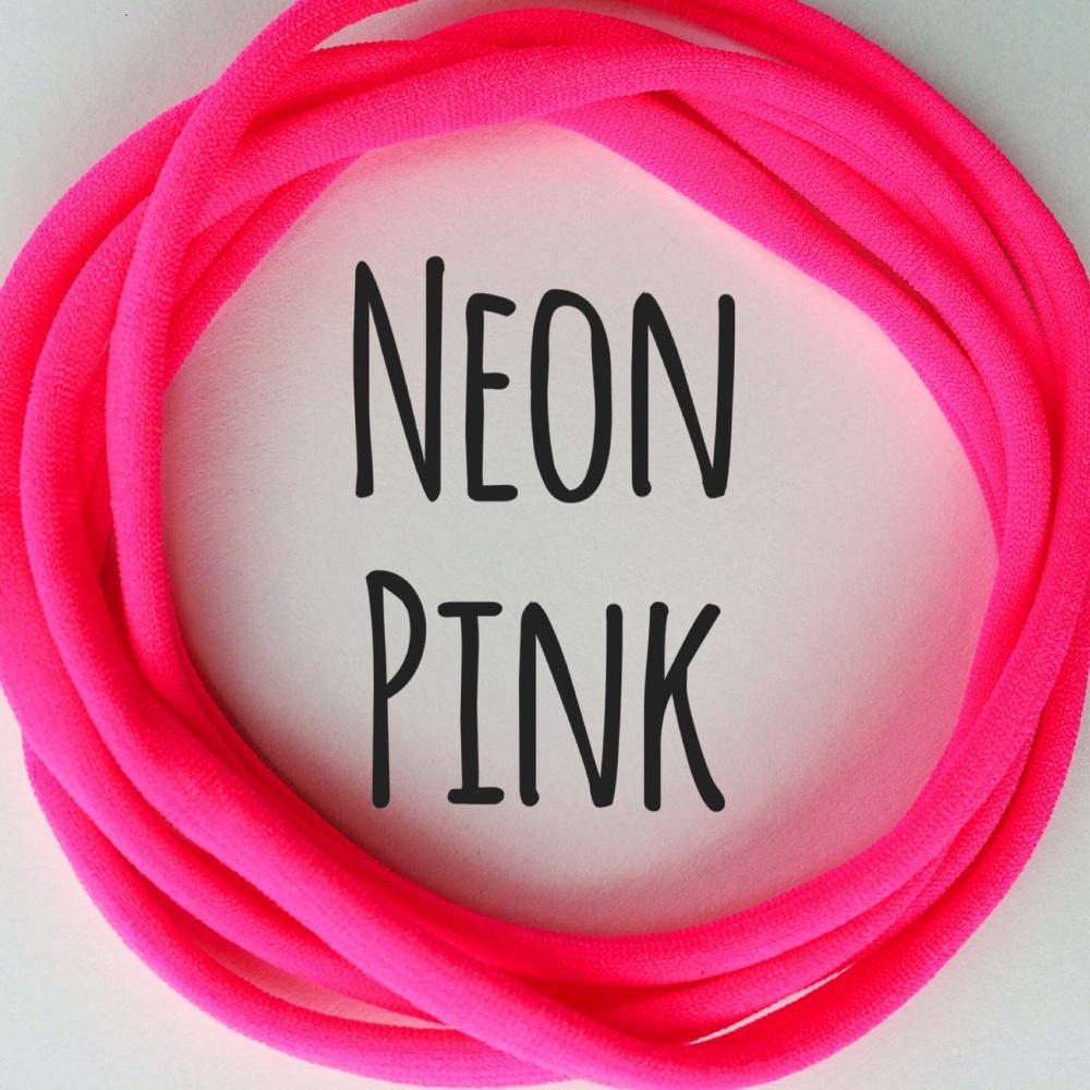 Pack of 5 Dainties - Neon Pink