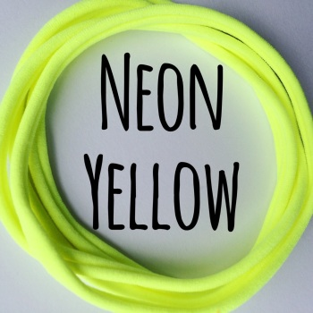Pack of 5 Dainties - Neon Yellow