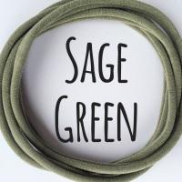Pack of 5 Dainties - Sage Green