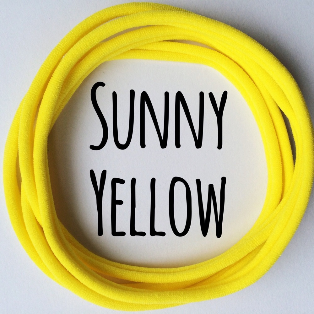 Pack of 5 Dainties - Sunny Yellow