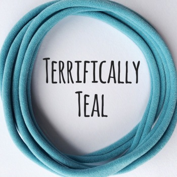 Pack of 5 Dainties - Terrifically Teal