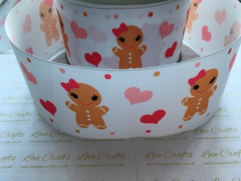 Sweet Gingerbread Grosgrain Ribbon