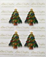 Christmas Tree Laser Resin