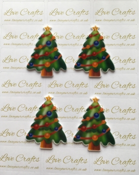 Christmas Tree Laser Resin