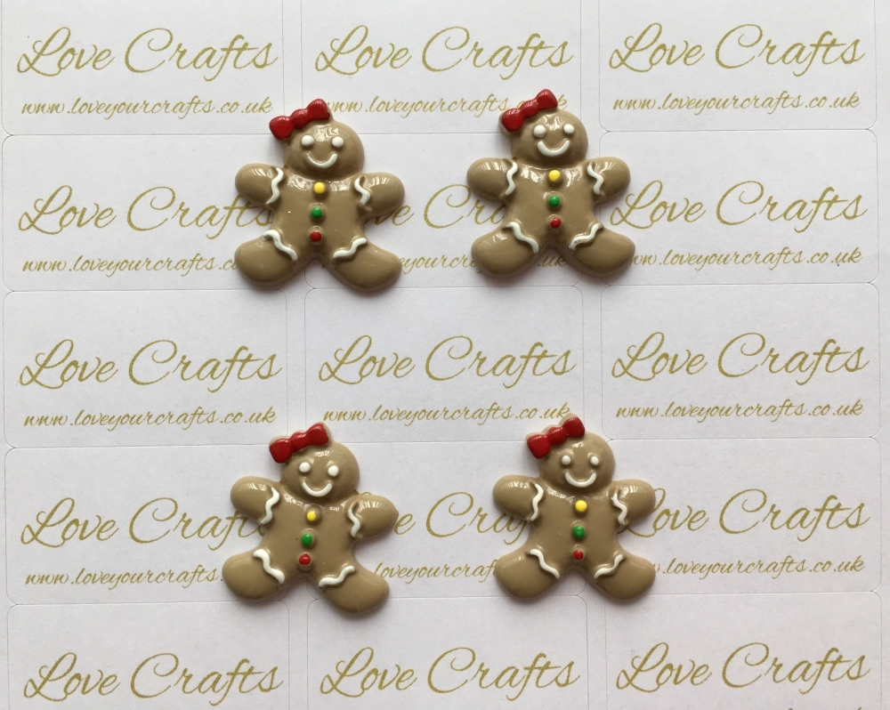 NEW Gingerbread Resin