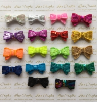 Small Sequin Bow