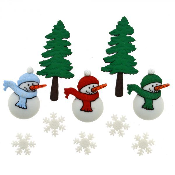 Dress It Up Buttons: Have A Cool Yule