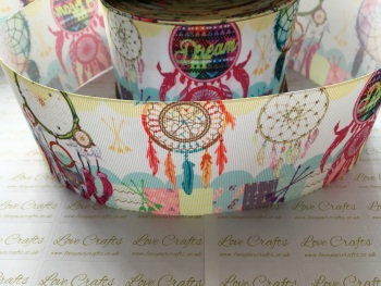 Dream Catcher Grosgrain Ribbon