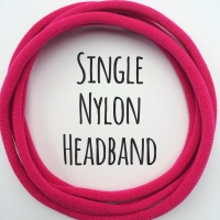 Single Dainties - Nylon Headbands