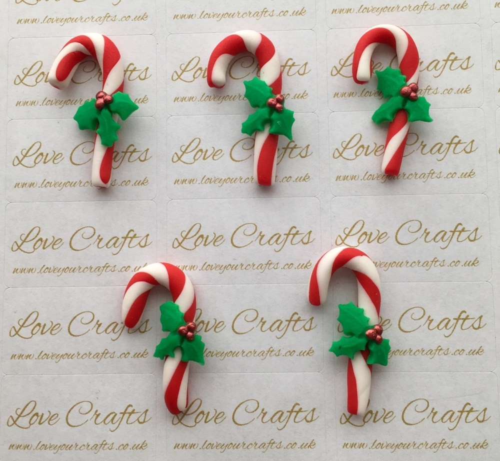 Candy Cane Clay