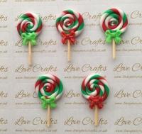 Christmas Lollipop Clay