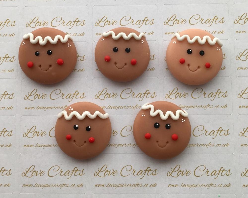 Gingerbread Boy Clay