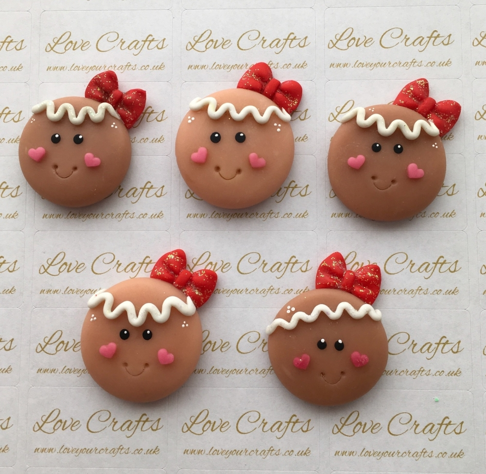 Gingerbread Girl Clay