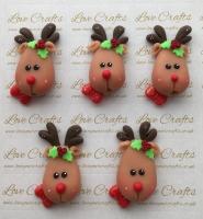 Reindeer Bow Clay