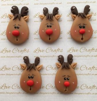 Reindeer Face Clay