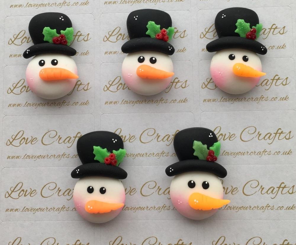 Snowman Hat Clay