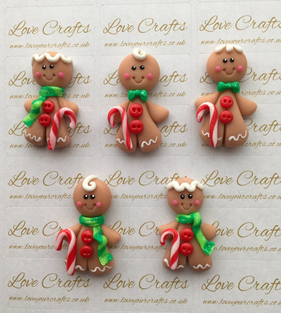 Gingerbread Man Clay