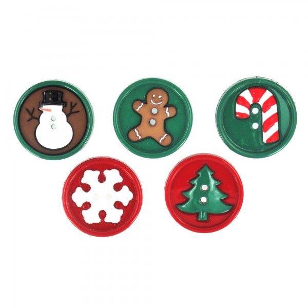 Dress It Up Buttons: Sew Fun Christmas