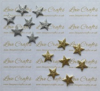 10x Star Embellishments