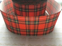 Ashley Tartan Grosgrain Ribbon