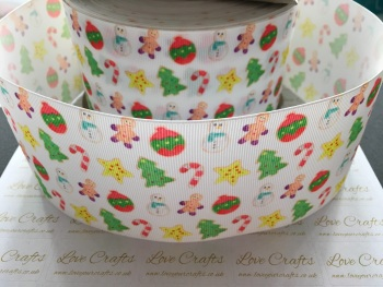 Christmas Goodies Grosgrain Ribbon