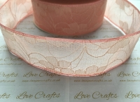 40mm Peach Lace