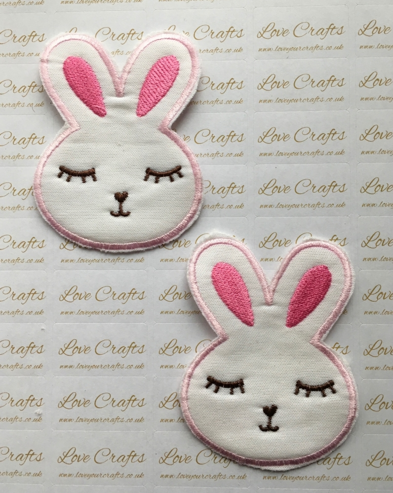 Bunny Embroidery Patch