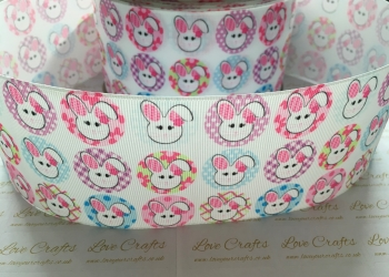 Easter Bunnies Grosgrain Ribbon