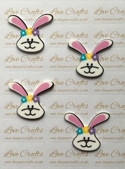 Easter Bunny Laser Resin