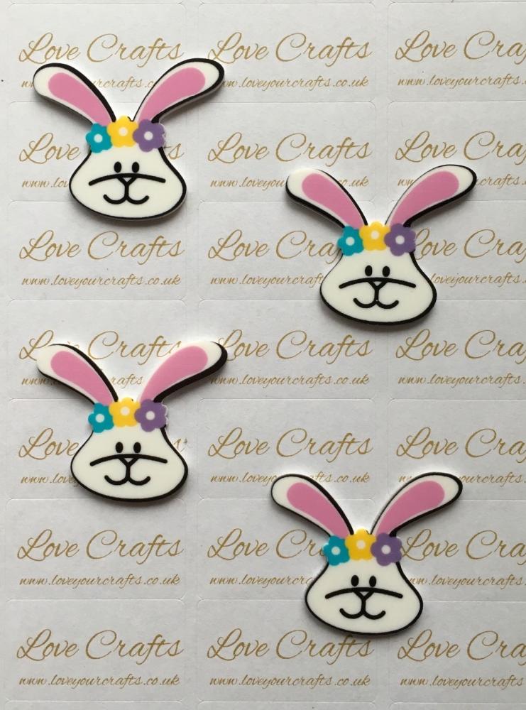 Easter Bunny Laser Resin
