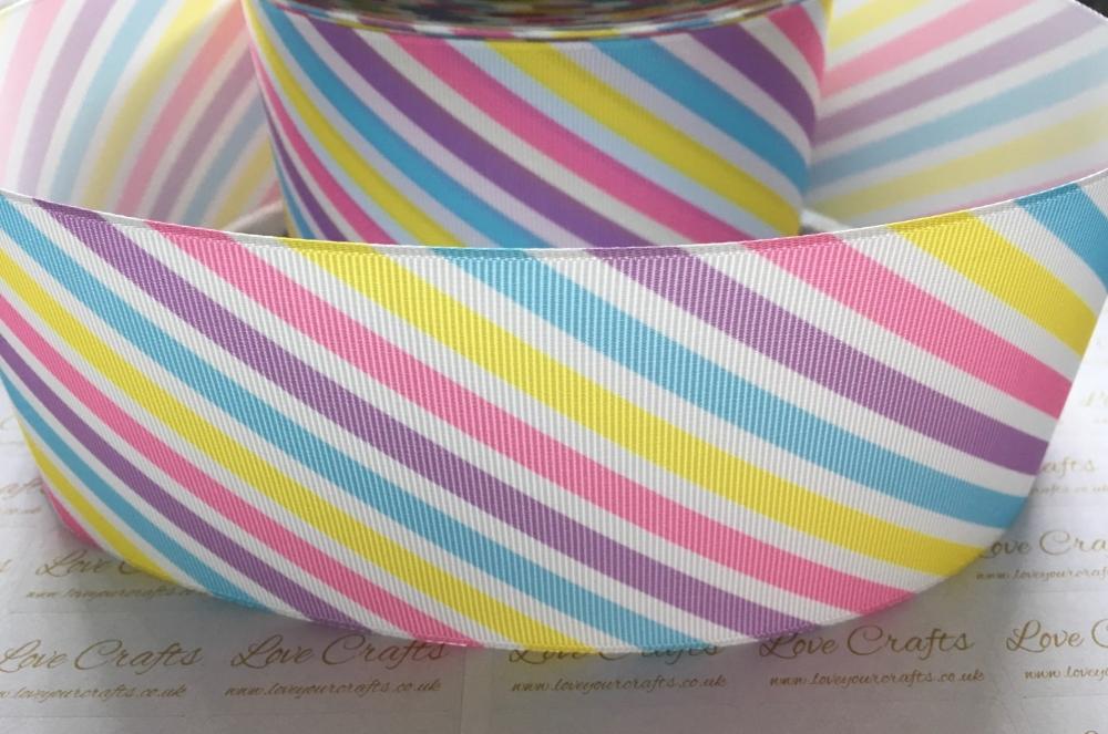 New Stripes Grosgrain Ribbon