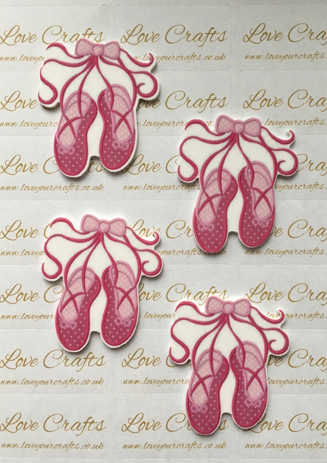 Ballet Shoes Laser Resin