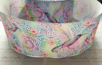 Hummingbird Grosgrain Ribbon