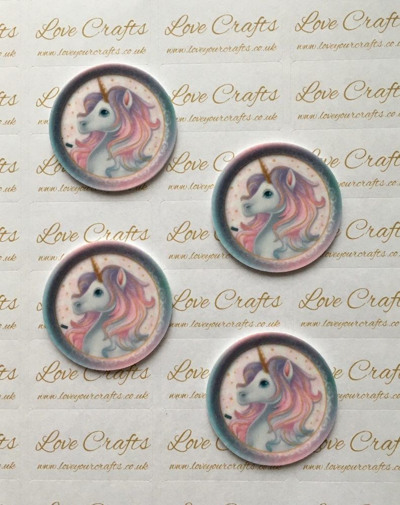 Pretty Unicorn Laser Resin