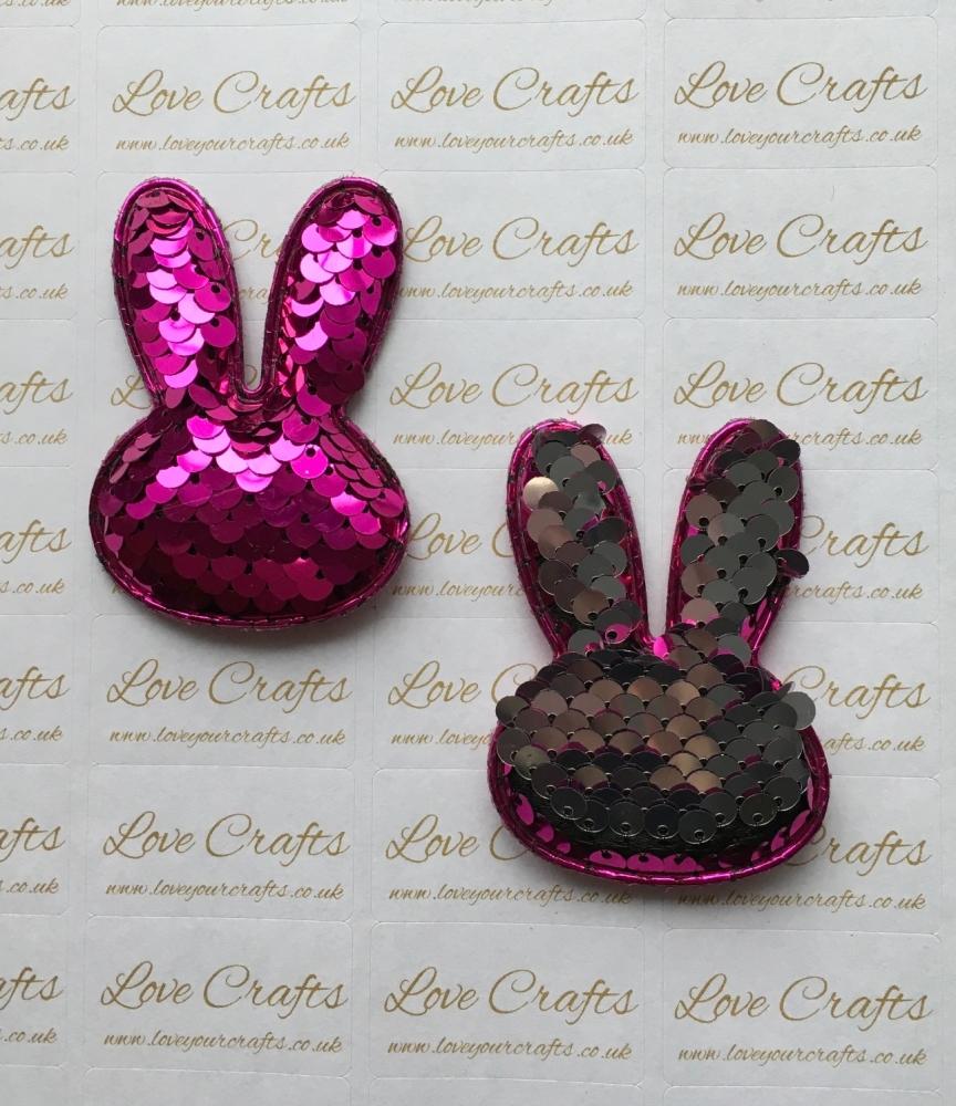 Colour Change Sequin Bunny