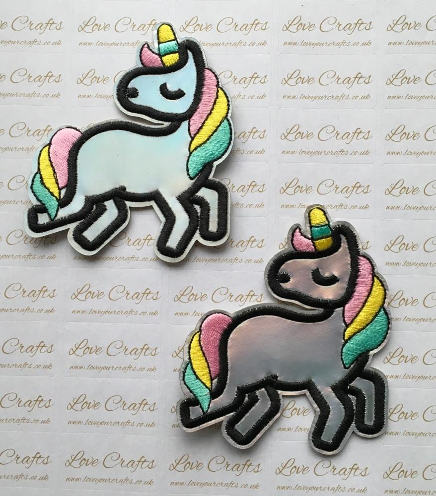 Unicorn Embroidery Patch